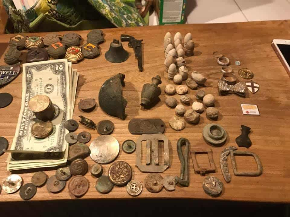 Can you sell Metal detecting finds