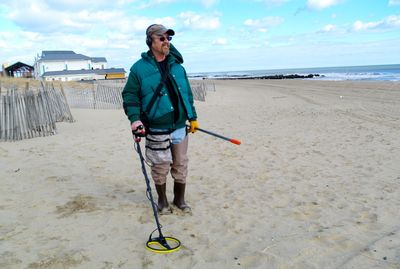 metal detecting as a hobby