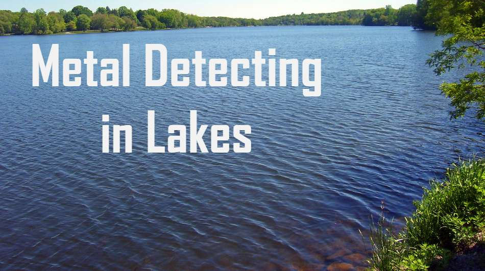 metal detecting in lakes