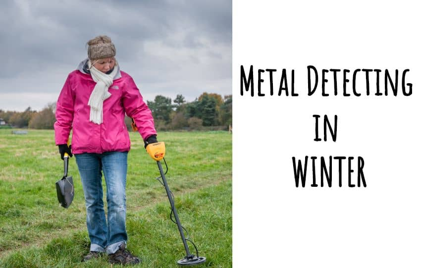 Metal Detecting in Winter