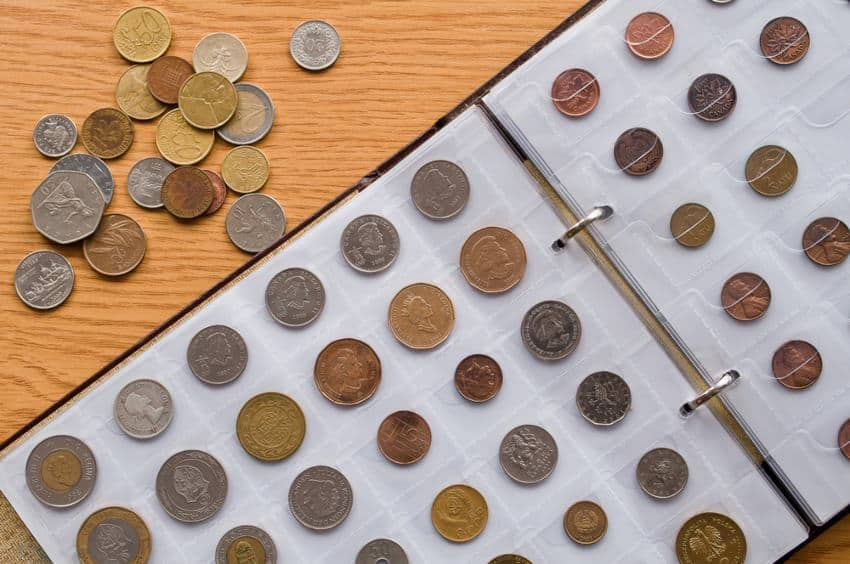 how to store coins collection