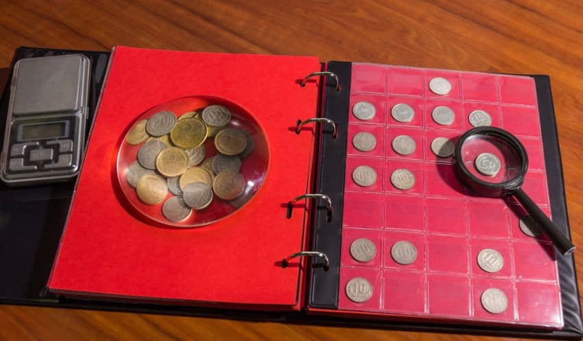 coin collecting tools