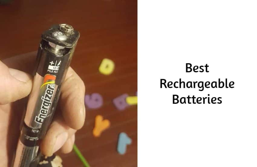 Best Rechargeable Batteries for metal detecting