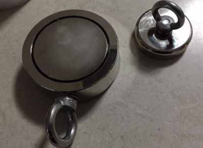 magnet fishing single vs double sided
