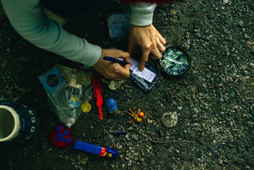 how to get started geocaching
