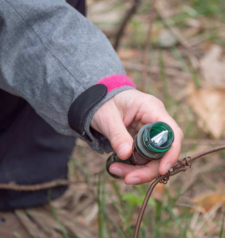 looking for a geocache